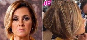 Adriana Esteves está de cabelo novo para nova fase na novela, Babilônia