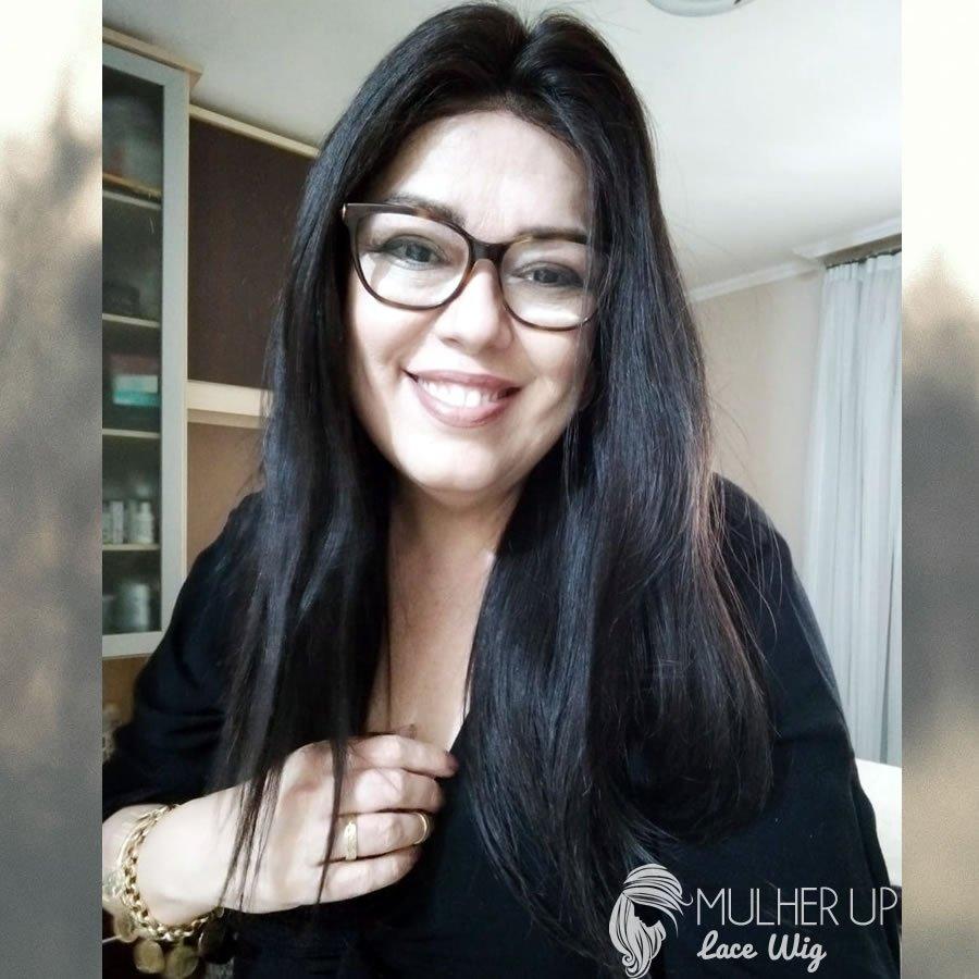 Full lace cabelo Peruano virgem remy